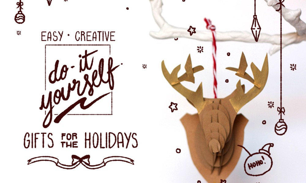 Easy, Creative Do-It-Yourself Gifts for the Holidays